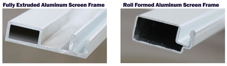 Roll Form vs Extruded Aluminum