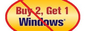 Buy 2 Get 1 Free windows