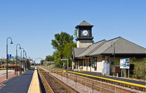 Highland Park Train Station