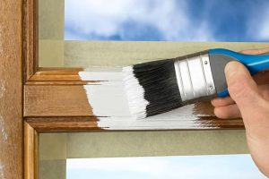 Painting Wood Windows